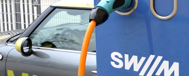 Зарядки SWM у Мюнхені