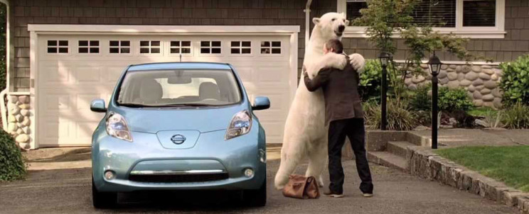 Nissan Leaf Bear
