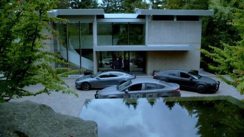 """Model S in """"Almost Human"""" (2014)"""