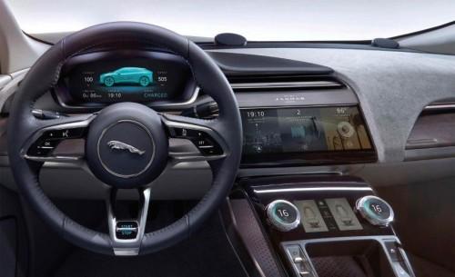 Jaguar All-Electric Concept - Inside